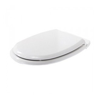 Abattant WC Atlas - MDF - Blanc