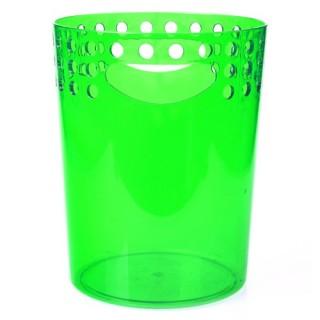 Poubelle WC / Salle de bain So city - PVC - 5L - Vert