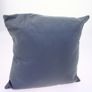 Coussin déhoussable - 38 x 38 cm - Gris