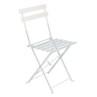 Chaise de jardin Camargue - Métal - Blanc
