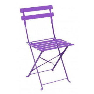 Chaise de jardin Camargue - Métal - Violet