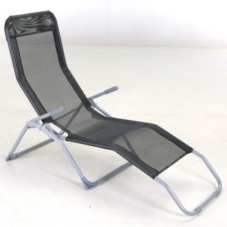 Transat / Chaise longue Siesta - Noir