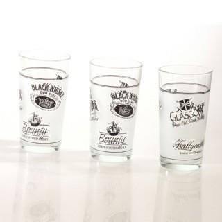 3 verres à whisky - 25cL - Verre