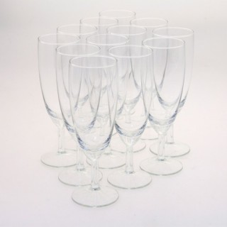 12 verres flûte - Verre