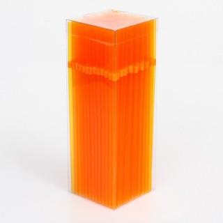 200 pailles Tonic - Orange