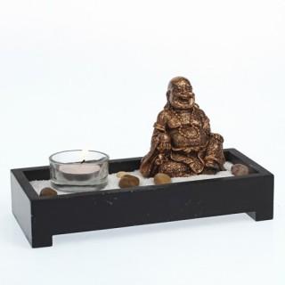 Mini jardin zen Bouddha - L. 21 cm