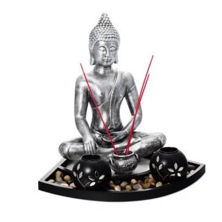 Bougeoir sur plateau Bouddha