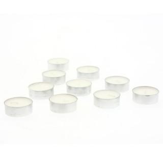 Lot de 10 bougies anti-tabac - Blanc