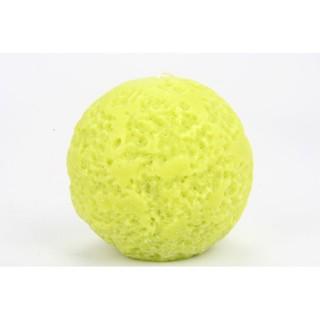 Bougie boule Rustique - Vert