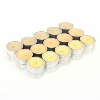 Lot de 30 bougies parfumées - Vanille