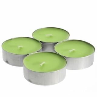 Lot de 4 bougies parfumées Fruit - Melon
