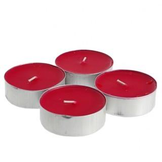 Lot de 4 bougies parfumées Fruit - Framboise