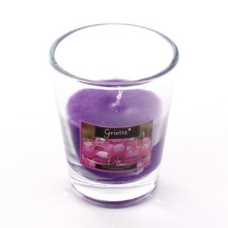 Bougie parfumée en verre Fruit - Griotte
