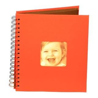 Album photo à spirale 20 pages - Pour bébé - L. 22,5 cm