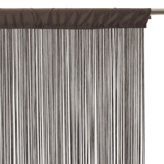 Rideau fils - 120 x 240 cm - Chocolat