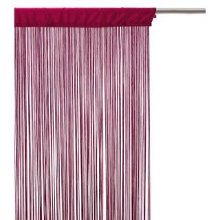 Rideau fils - 120 x 240 cm - Framboise