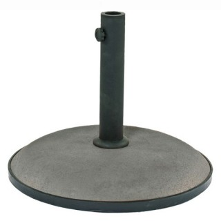 Pied de parasol - Béton - 25 Kg - Gris
