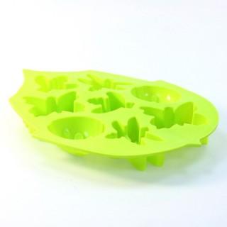 Moule à gateaux Papillon - Silicone - Vert