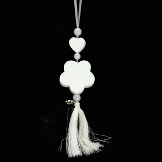 Décoration parfumée à suspendre - Parfum coton - Fleur