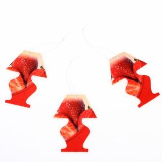 3 sachets parfumés - Fraise