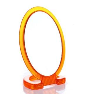 Miroir de salle de bain pivotant - Face grossissante x2 - PVC - Orange