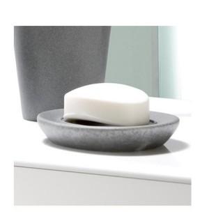 Tablette porte-savon pebble stone - Gris