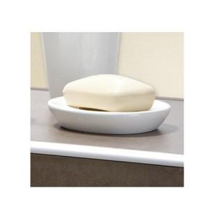 Tablette porte-savon pebble stone - Blanc