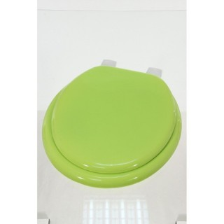 Abattant WC uni - MDF - Vert anis