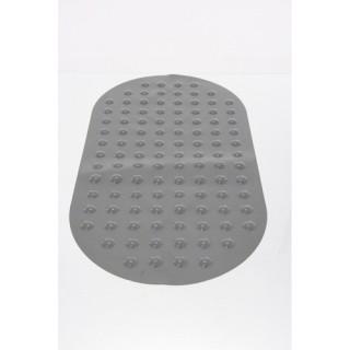 Tapis de fond de baignoire anti-dérapant - Taupe