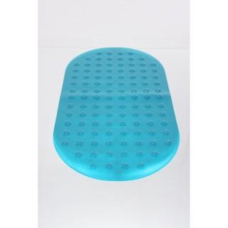 Tapis de fond de baignoire anti-dérapant - Turquoise