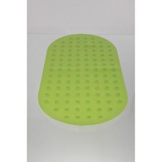 Tapis de fond de baignoire anti-dérapant - Vert anis