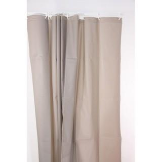 Rideau de douche Eva - 180 x 200 cm- Taupe