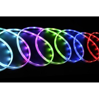 Guirlande d'extérieur lumineuse Stalactite - 6 m - Multicolore