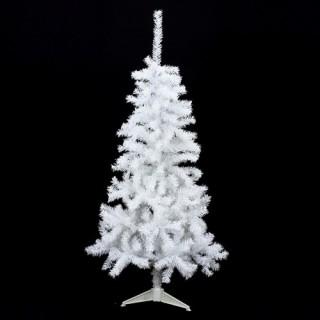 Sapin de noël Luxe - 2,1 m - Blanc
