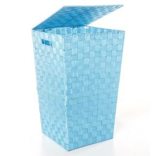 b5909fbfab568 Panier à linge enfant Super Héros - Diam. 40 cm - Bleu - Toilinux