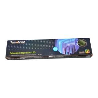 Extension 3 Baguettes 36 LED - Bleu