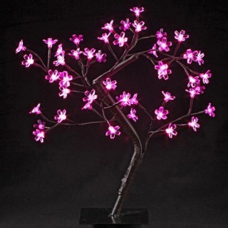 Arbre lumineux d'intérieur - 48 LED - Prunus