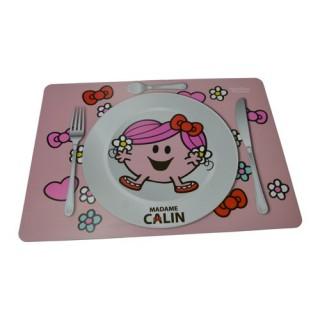 Set de table Monsieur Madame - 30 x 40 cm. - Mme Calin