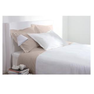 Taie d'oreiller - 63 x 63 cm - Blanc