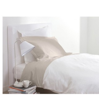 Drap housse - 90 x 190 cm - Blanc