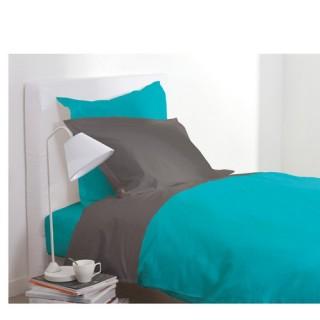 Housse de couette - 140 x 200 cm - Turquoise