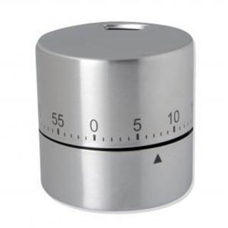 Minuteur de cuisine Cylindre - Inox