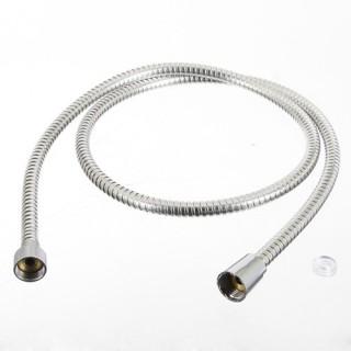 Flexible de douche en PVC et en Inox - 1,50 m - Gris