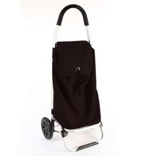 Chariot de marché - Noir