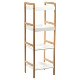 etag re roulettes gain de place acier chrom toilinux. Black Bedroom Furniture Sets. Home Design Ideas