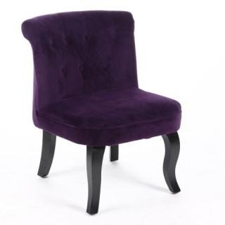 Chaises de salon en stock toilinux - Fauteuil crapaud violet ...