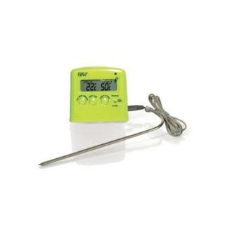 Thermomètre à sonde - Vert Anis