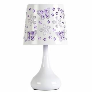 Lampe White Touch - Papillon - Violet