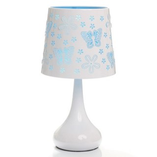 Lampe White Touch - Papillon - Turquoise
