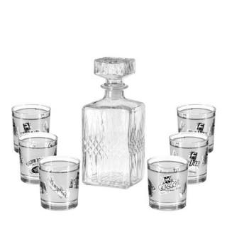 Service à Whisky - 7 Pièces